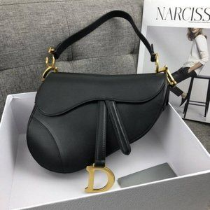 NWT Christian Dior Mini Saddle Bag